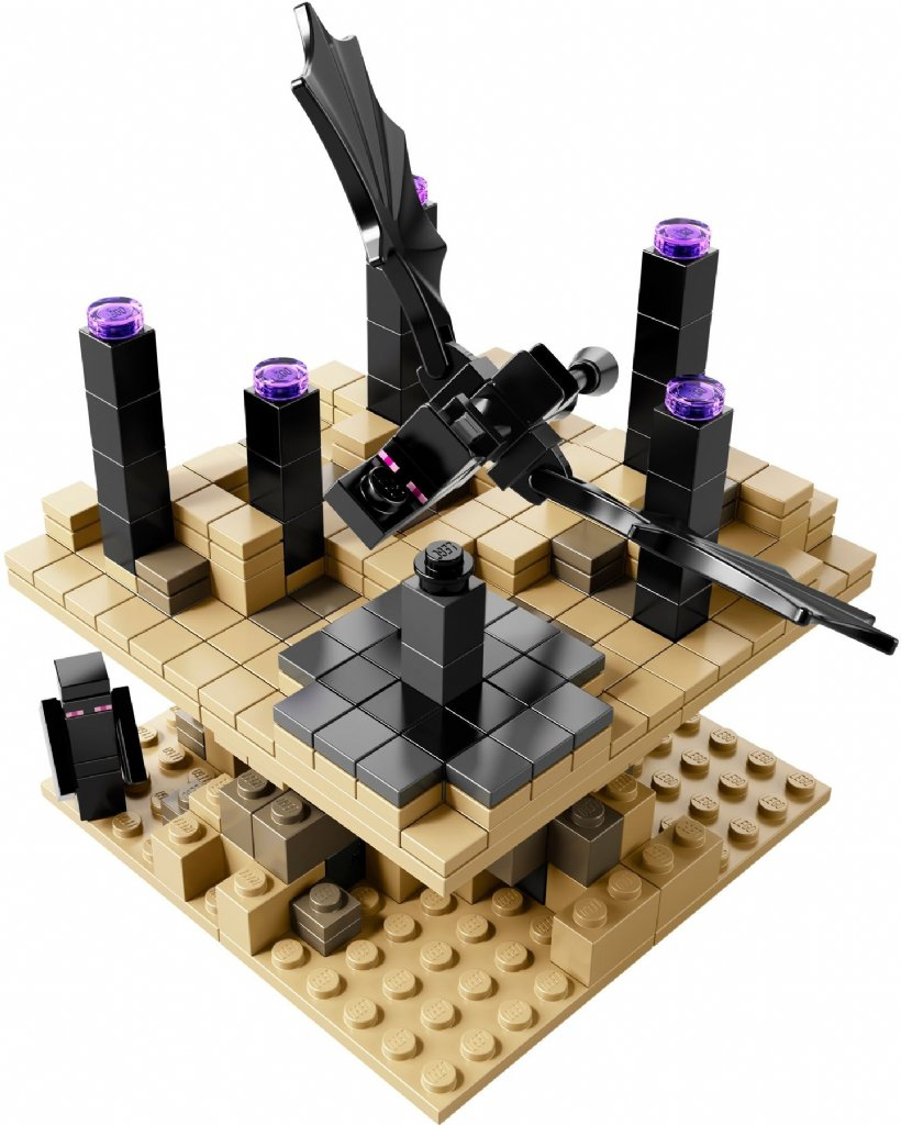 Lego minecraft micro world the end 21107 lego minecraft for Lego world craft