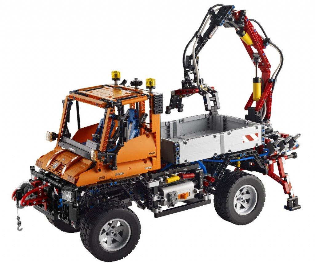 technic unimog u400 8110 lego technic teman. Black Bedroom Furniture Sets. Home Design Ideas