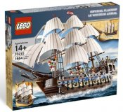 LEGO Skadad Ask Pirates Imperial Flagship SK10210