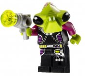 Minifigurer Alien Conquest Pilot 1110