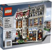 Exklusivt LEGO Pet Shop 10218