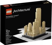 Exklusivt LEGO Architecture Rockefeller Center 21007