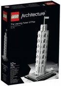 Exklusivt LEGO Architecture The Leaning Tower of Pisa 21015