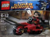 LEGO Super Heroes specialpåse Robin and Redbird Cycle 30166