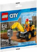 LEGO City Specialpåse Demolition Driller 30312