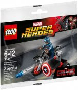 LEGO Captain Americas Motorcycle 30447