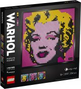 LEGO ART Andy Warhols Marylin Monroe 31197