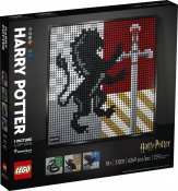 LEGO ART Harry Potter Hogwartssköldar 31201