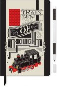 LEGO STATIONERY Notebook Train of thought w/ gelpen 52381