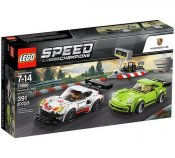 LEGO Speed Champions Porsche 911 RSR och 911 Turbo 3,0 75888