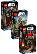 LEGO Star Wars 3 unit Buildable Figure Battle Pack 7552458