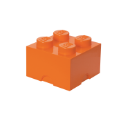 LEGO Förvaringslåda 4 Bright Orange 40031760