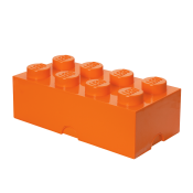 LEGO Förvaringslåda 8 Bright Orange 40041760