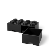 LEGO Brick Drawer 8 Svart 40061733