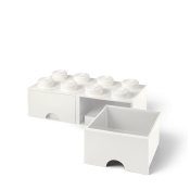 LEGO Brick Drawer 8 Vit 40061735