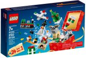 LEGO 24-in-1 Christmas Builds 40222