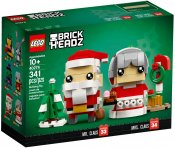 LEGO Brickheadz Mr and Mrs Claus 40274