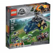 LEGO Jurassic World Blues helikopterjakt 75928