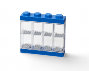 LEGO Minifigure Display Case 8 Blå 40650005