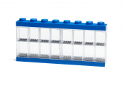 LEGO Minifigure Display Case 16 blå 40660005