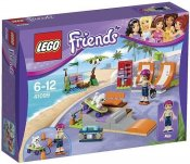 LEGO Friends Heartlakes skateboardpark 41099