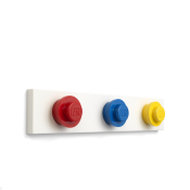LEGO WALL HANGER RACK Bright Red, Bright Blue, Bright Yellow 41110001