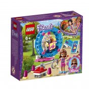 LEGO Friends Olivias hamsterlekplats 41383