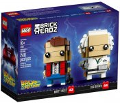LEGO BrickHeadz Marty McFly & Doc Brown 41611