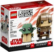 LEGO BrickHeadz Luke Skywalker & Yoda 41627