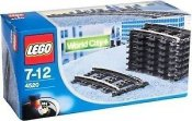 LEGO City World City 9V Curved Tracks 4520