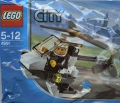 LEGO City Police Helicopter 4991