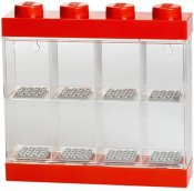 LEGO Minifigure Display Case 8 Röd 40650001