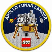 LEGO NASA Apollo 11 Lunar Lander Patch 5005907