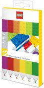 LEGO STATIONERY Markers, 12-pack 51644