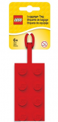 LEGO CLASSIC Luggage Tag, Red 52002