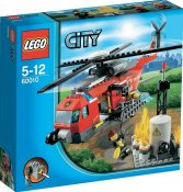 LEGO Skadad ask City Brand Helikopter limited SK60010