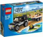 LEGO City Great Vehicles Stadsjeep & Vattenskoter 60058