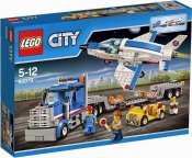 LEGO City Training Jet Transporter 60079
