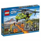 LEGO City Vulkan Transporthelikopter 60123