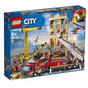 LEGO City Brandkåren i centrum 60216