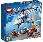 LEGO City Polishelikopterjakt 60243