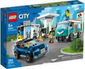 LEGO City Bensinstation 60257