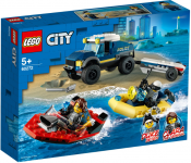 LEGO City Elitpolisens båttransport 60272