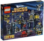 LEGO Skadad Ask Super Heroes The Batcave SK6860