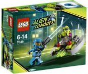 LEGO Alien Conquest Utomjordisk attack 7049