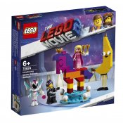 LEGO Movie 2 Vi presenterar drottning Wembryrsi WaNabi 70824