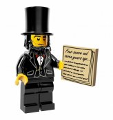 LEGO The Movie Abraham Lincoln 710043