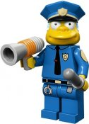 Minifigurer Chief Wiggum 7100515