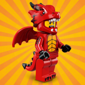 LEGO Minifigure Dragon Suit Guy 710217
