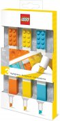 LEGO STATIONERY highlighter, 3-pack. Orange, yellow and turquoise 51685